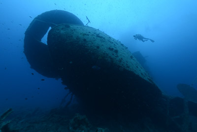 The wreck of Thistlegorm in the Red Sea. Photographs by Amar and Isabelle Guillen.