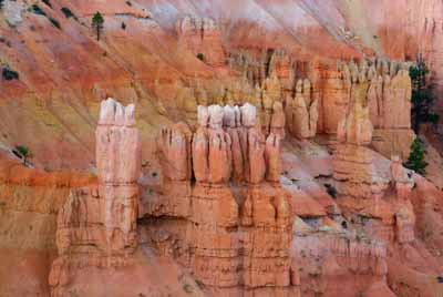 Landscapes of Bryce Canyon in the state of Utah in United States. Photographs by Isabelle and Amar Guillen.