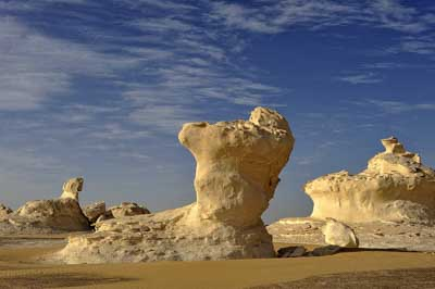 White Desert in Egypt. Photographs by Isabelle and Amar Guillen.