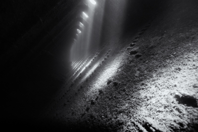 The Umbria wreck laying off the coast of Sudan. Photographs by Amar and Isabelle Guillen.