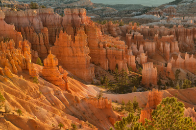 Landscapes of Bryce Canyon in the state of 'Utah. Photographs by Isabelle and Amar Guillen.