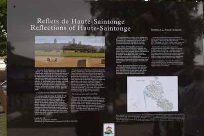 Exhibition Reflections of Haute-Saintonge in Jonzac. Photographs by Isabelle and Amar Guillen.