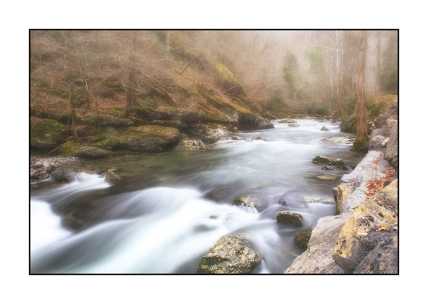 Torrent in the Smoky Mountains, Tennessee