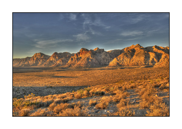 Dawn on Red Rock Canyon II.
