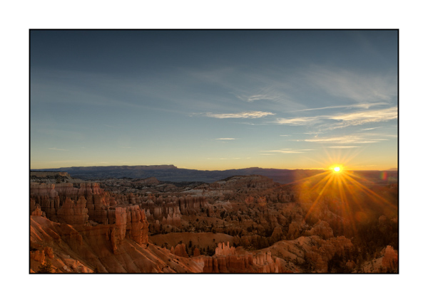 Magic dawn on the Hoodoos of Bryce Canyon in Utah.