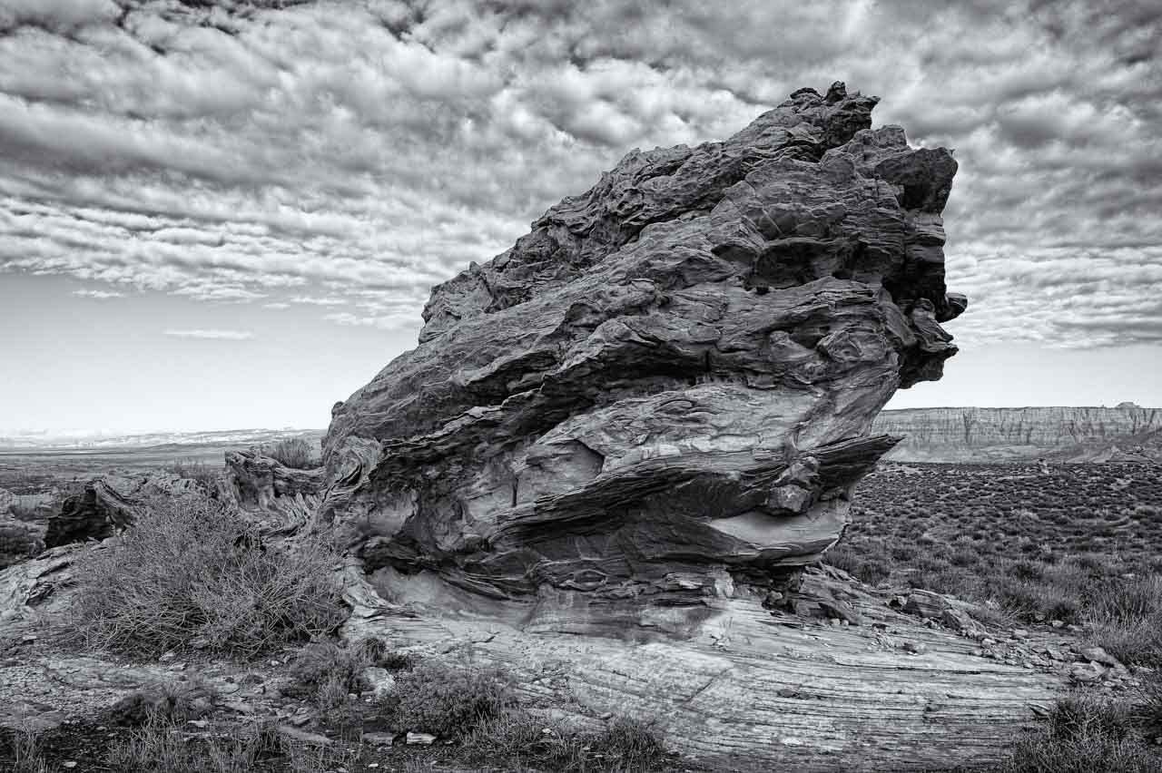 Landscape near Page in Arizona in United States. Photograph by Amar Guillen, photographer artist.