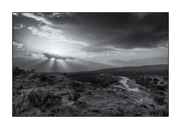 Big Bend in Texas BW I