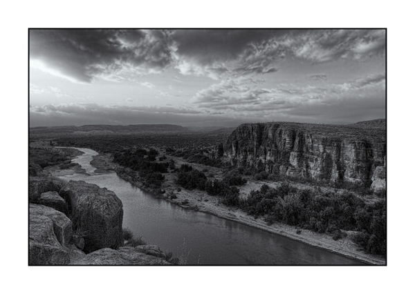 Big Bend au Texas BW III