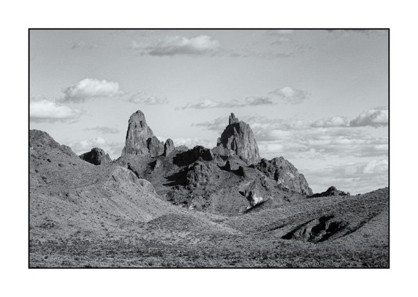 Big Bend au Texas BW XVI