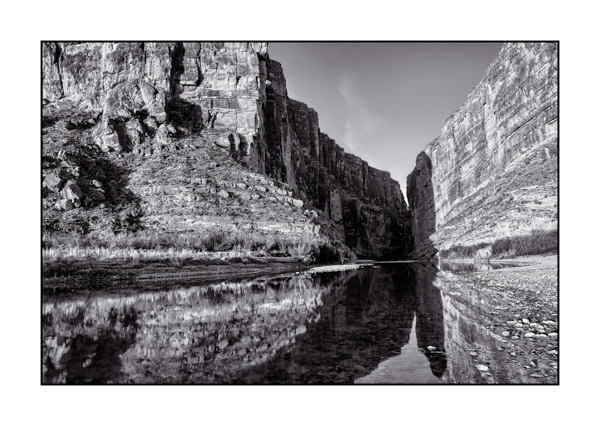 Parc National de Big Bend au Texas aux Etats-Unis