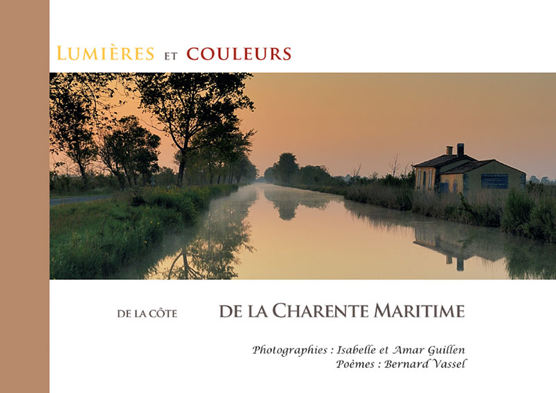 The book 'Lights and colors of the coast of Charente-Maritime
