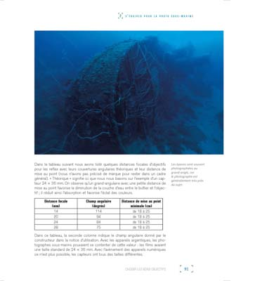 Book Secrets of Underwater Photography. Photographs and Texts by Isabelle and Amar Guillen.