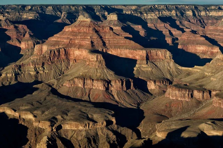 landscape of Grand Canyon from South Rim in Arizona. Amar Guille