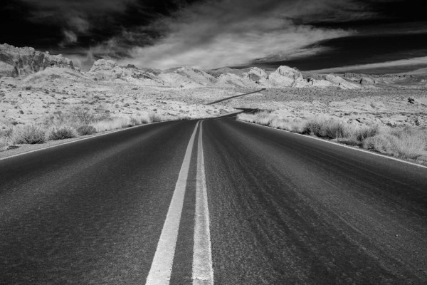 01 paysage de valley fire nevada en noir et blanc amar guillen photographe