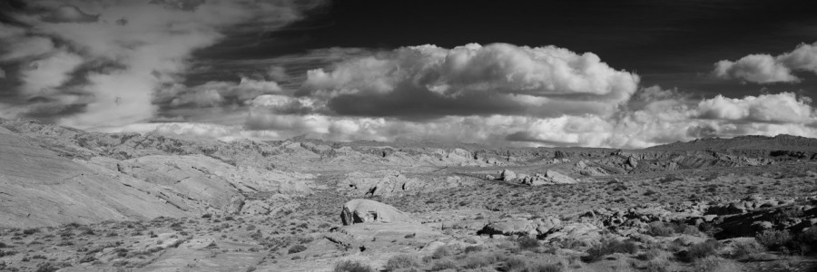 04 paysage de valley fire nevada en noir et blanc amar guillen photographe