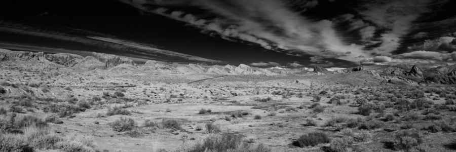 06 paysage de valley fire nevada en noir et blanc amar guillen photographe