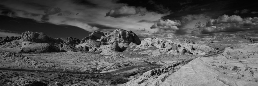 08 paysage de valley fire nevada en noir et blanc amar guillen photographe